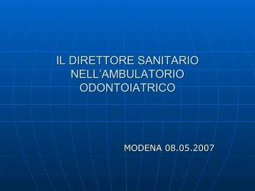 """Direzione Sanitaria"" - Dott. Gian Paolo (pdf - 150 KB) - Ordine ..."