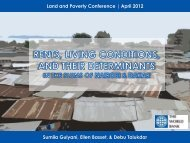 Nairobi - World Bank Conference on Land and Poverty