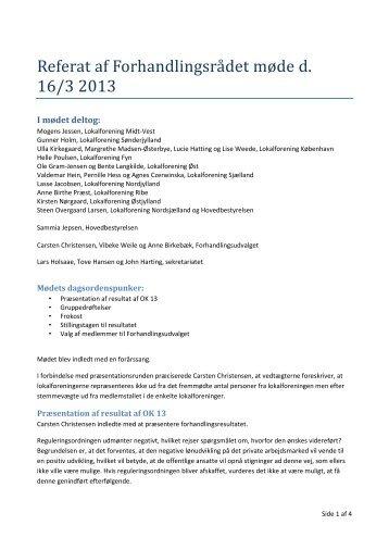 Ref_Forhandlingsraadsmoede_2013 - De Offentlige Tandlæger