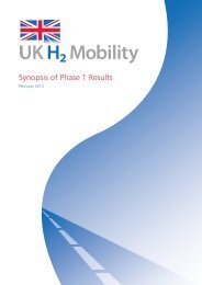 UK-H2 Mobility - Synopsis of Phase 1 Results - ITM Power