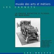 Presse rotative à plieuse de Marinoni - Musée des arts et métiers
