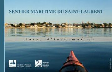 livret d'information - Sentier maritime du Saint-Laurent
