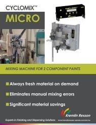 Cyclomix™ Micro Brochure - Kremlin Rexson Sames