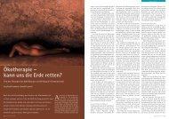Ökotherapie – kann uns die Erde retten? - Hagia Chora Journal