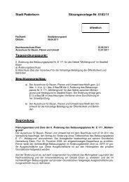 Vorlage (460 KB) - Stadt Paderborn