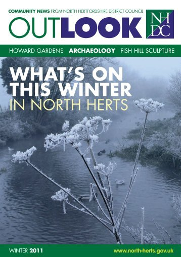 Outlook Winter 2011 - North Hertfordshire District Council