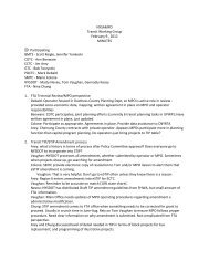 NYSAMPO Transit Working Group February 9 , 2012 MINUTES ...
