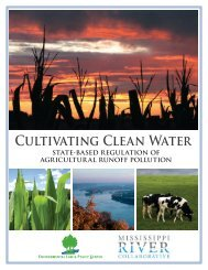 CUltivAtiNG ClEAN WAtER - Environmental Law and Policy Center