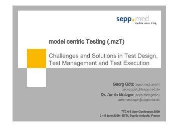 Model Centric Testing - TTCN-3
