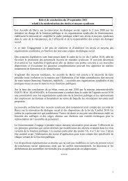 Relevé de conclusions - 29 septembre 2011 vDef - Emploipublic.fr