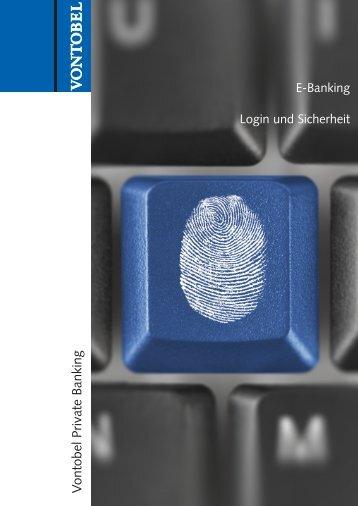 E-Banking - Vontobel Holding AG