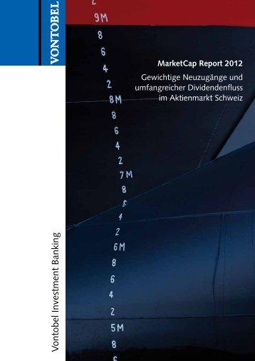 MarketCap Report 2012 - Vontobel Holding AG