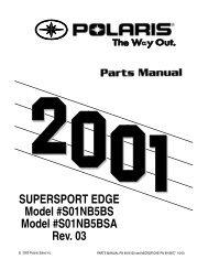 SUPERSPORT EDGE Model #S01NB5BS Model #S01NB5BSA Rev ...