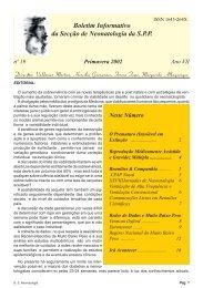 Primavera 2002 - Secção de Neonatologia SPP - Home