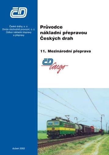 Průvodce nákladní přepravou ČD - jerid