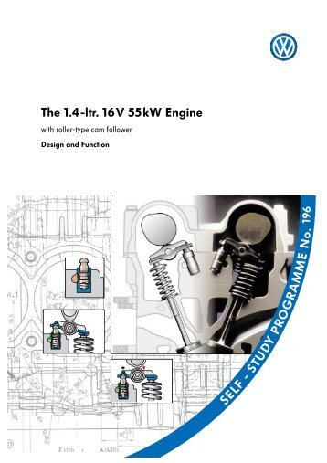 The 1.4-ltr. 16V 55kW Engine - Volkswagen Technical Site
