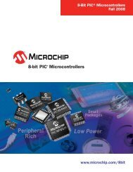 8-bit PIC® Microcontroller Solutions - Products