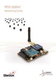 RFID 125KHz Networking Guide - Libelium