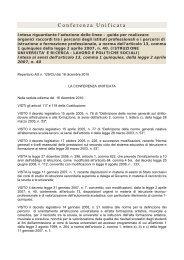 Conferenza Unificata - Ufficio Scolastico Regionale per il Veneto