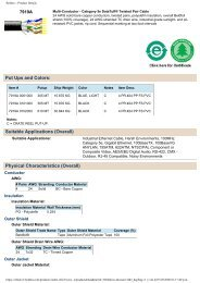 Belden :: Product Details - PCDeacitec