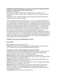Dokument för behandling vid långvarig smärta