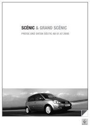 SCÉNIC & GRAND SCÉNIC - Renault