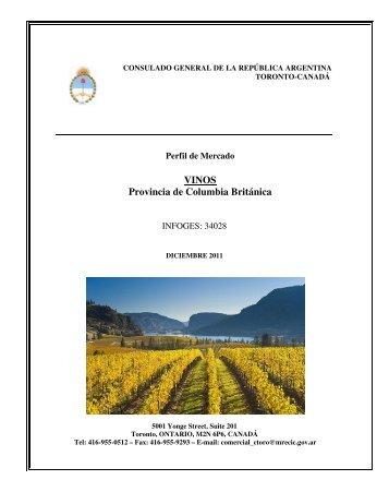 VINOS Provincia de Columbia Británica - Wines Of Argentina