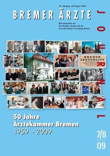50 Jahre Ärztekammer Bremen