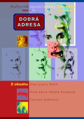 Kulturně společenský časopis - Dobrá adresa