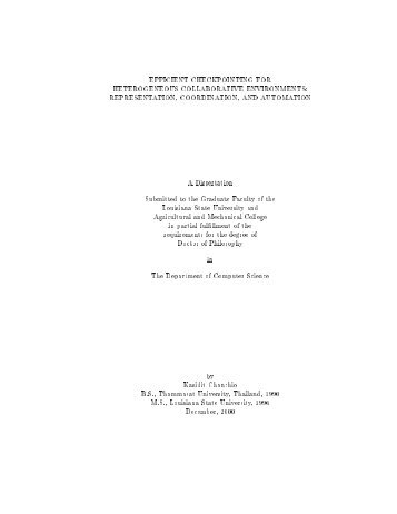 Efficient Checkpointing in Heterogeneous Collaborative ... - vasabiLab