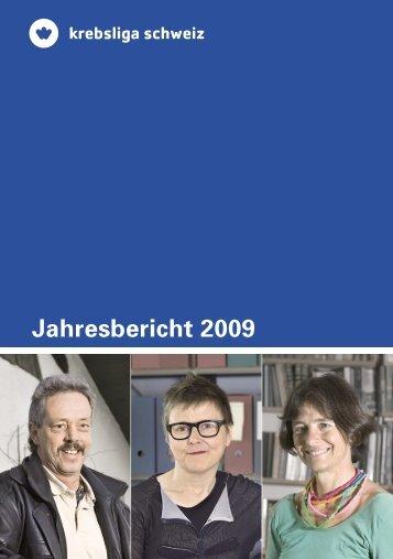 Jahresbericht 2009 - Krebsliga Schweiz