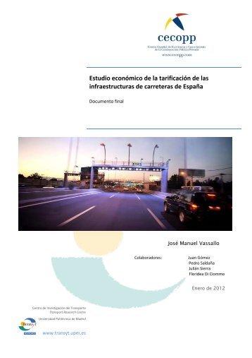El informe CECOPP - Aseta