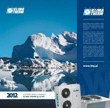 2012 agregaty dla systemów wody lodowej KLIMA-THERM by CLINT
