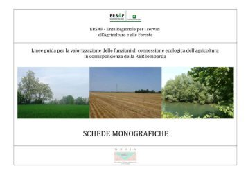 40 schede monografiche - Ersaf