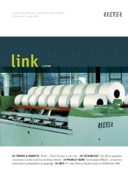 link 1/2006 03 TRENDS & MARKETS Rieter – Faire honneur à son ...