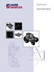 Hitch Control System Description (PDF 1 MB) - Sauer-Danfoss