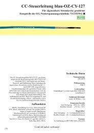 CC-Steuerleitung blau-OZ-CY-127 - ConCab kabel gmbh