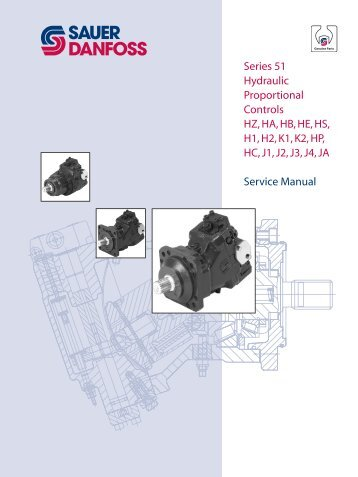 Series 51 Hydraulic Proportional Controls HZ, HA ... - Sauer-Danfoss