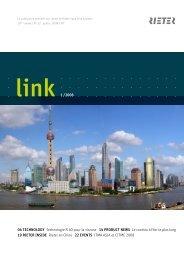 link 1 /2008 04 TECHNOLOGY Technologie R 40 pour la ... - Rieter