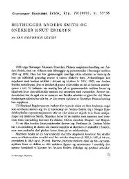 Bilthugger Anders Smith og snekker Knut Eriksen - Museum Stavanger