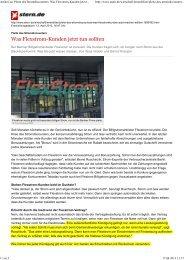 Pleite des Stromdiscounters - TeleSon Vertriebs GmbH