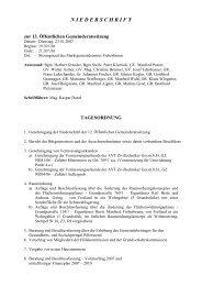 N I E D E R S C H R I F T - Fieberbrunn - Land Tirol