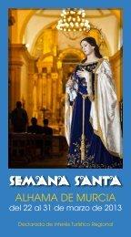 semana santa 2013 en alhama de murcia - Ayuntamiento de ...