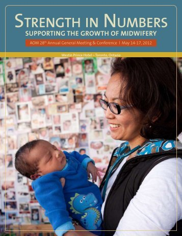 STRENGTH IN NUMBERS - Association of Ontario Midwives