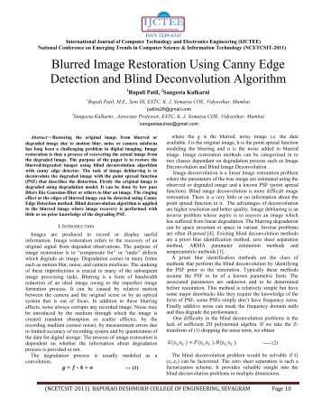 Blurred Image Restoration Using Canny Edge Detection and Blind ...
