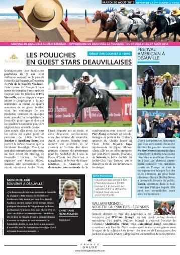 La Gazette du 20 août ( PDF - 1002.6Ko ) - France Galop