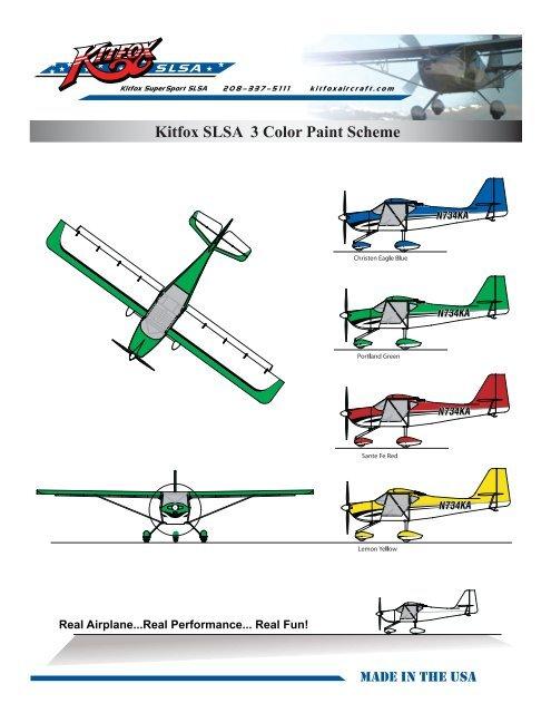 Kitfox SLSA – Light Sport Aircraft $88,495 - Kitfox Aircraft