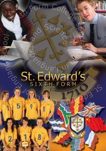 Sixth Form - St Edward's C of E School