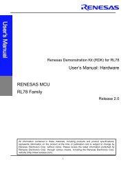 Renesas Demo Kit (RDK) for SH2A-7216 - Arrow Electronics