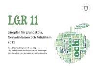 Lgr 11 - Pedagog Stockholm